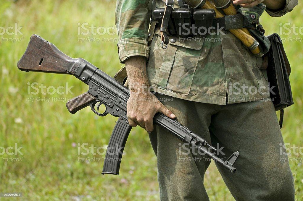 MP43 автомат Стоковые фото Стоковая фотография