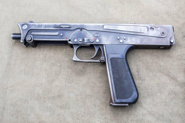 Maschinenpistole PP-93 - persönliche Verteidigungswaffe – Foto