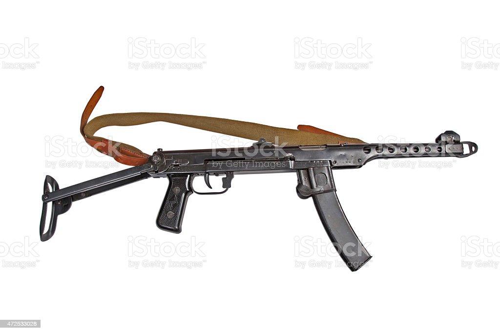 submachine gun pps stock photo