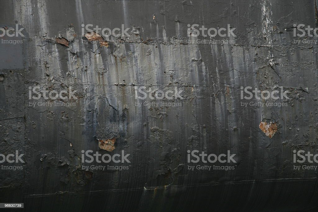 Submarine Hull royalty-free stock photo