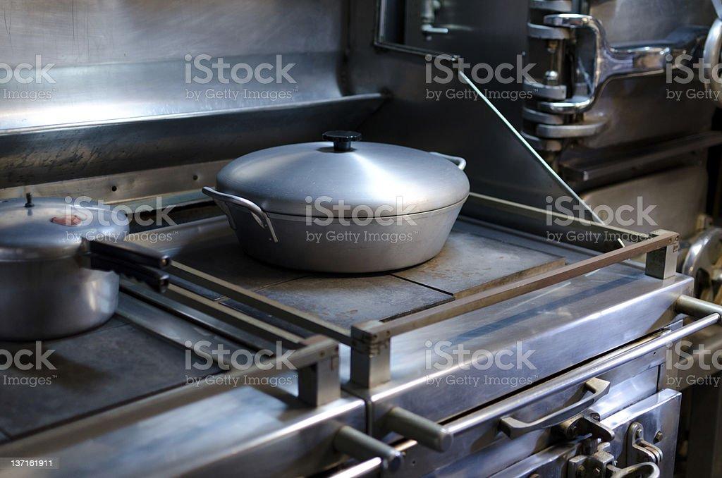 Submarine kitchen royalty-free stock photo