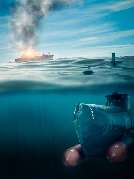 submarine on patrol - wreck diving stock pictures, royalty-free photos & images