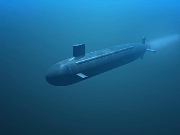 3 d submarino - submarino fotografías e imágenes de stock