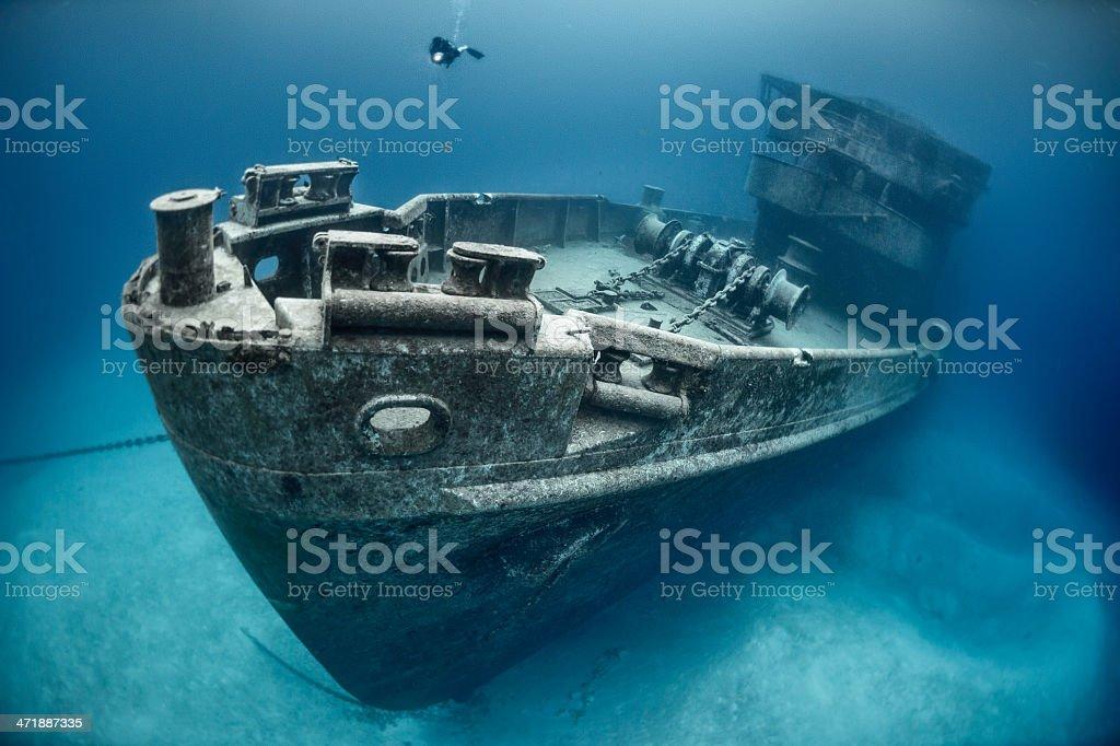 Submarine rescue stock photo
