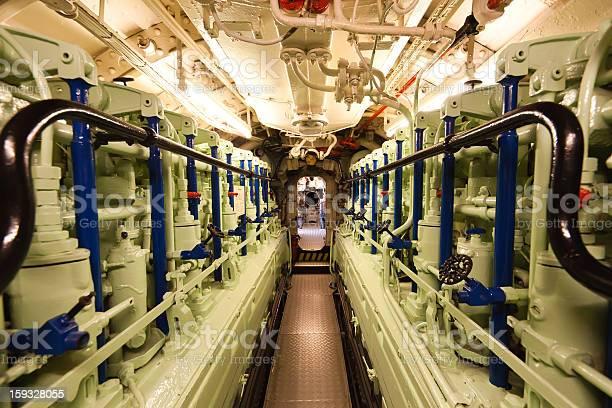 Submarine Art Viic41dieselmotor Stockfoto und mehr Bilder von Anzeigeinstrument