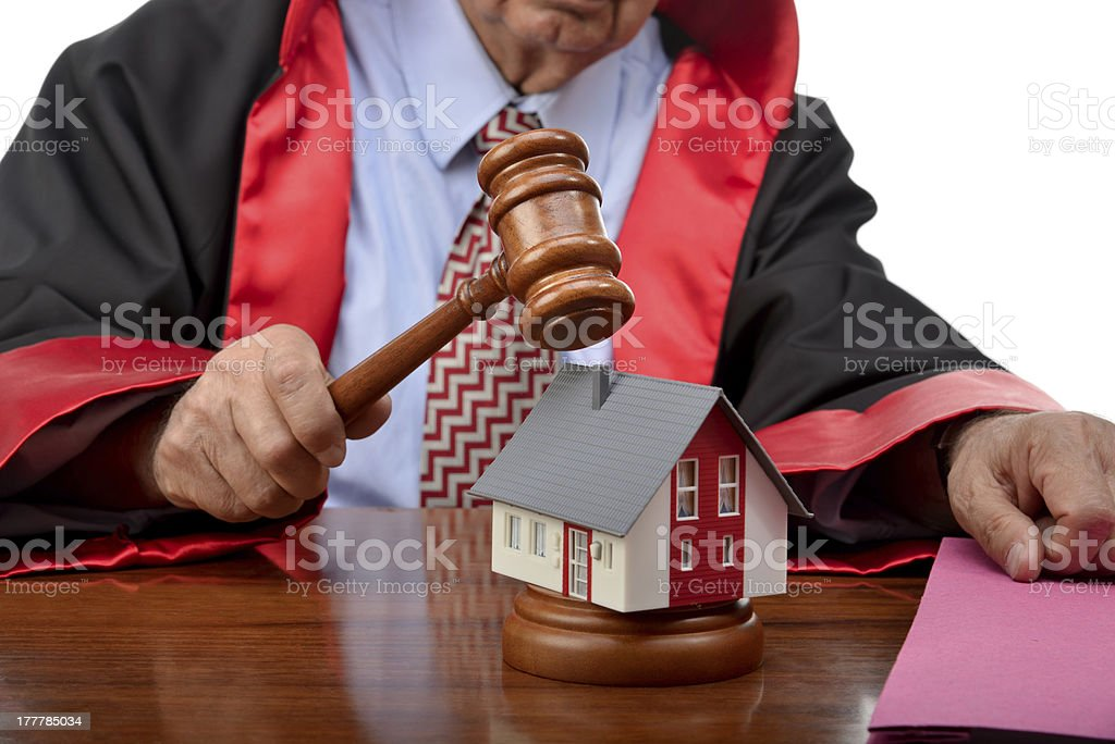Subprime Loan Crisis stock photo