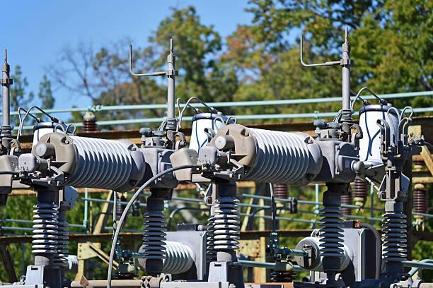 Substation 8 stock photo