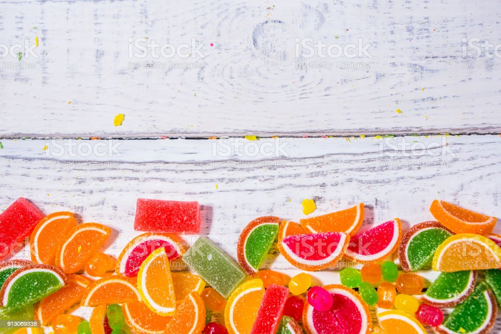 substrate for advertising, sweets on the background stock photo