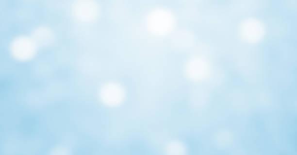 Fondo sutil, azul claro abstracto borroso con bokeh fotográfico de movimiento - foto de stock