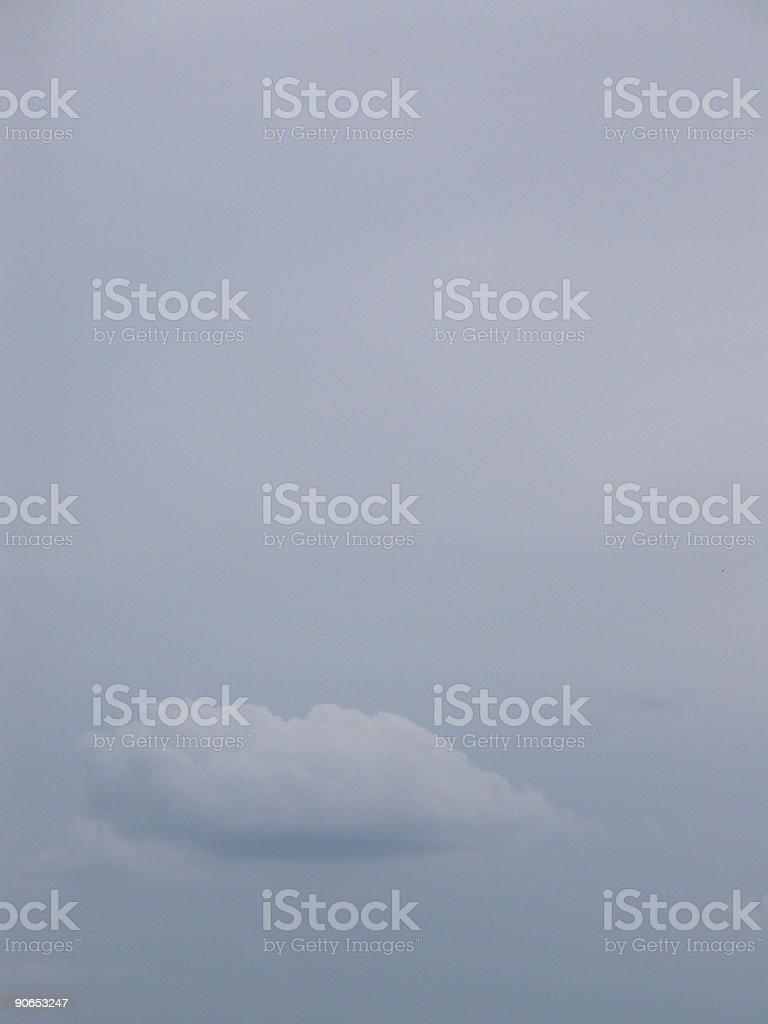 Subtle cloud stock photo