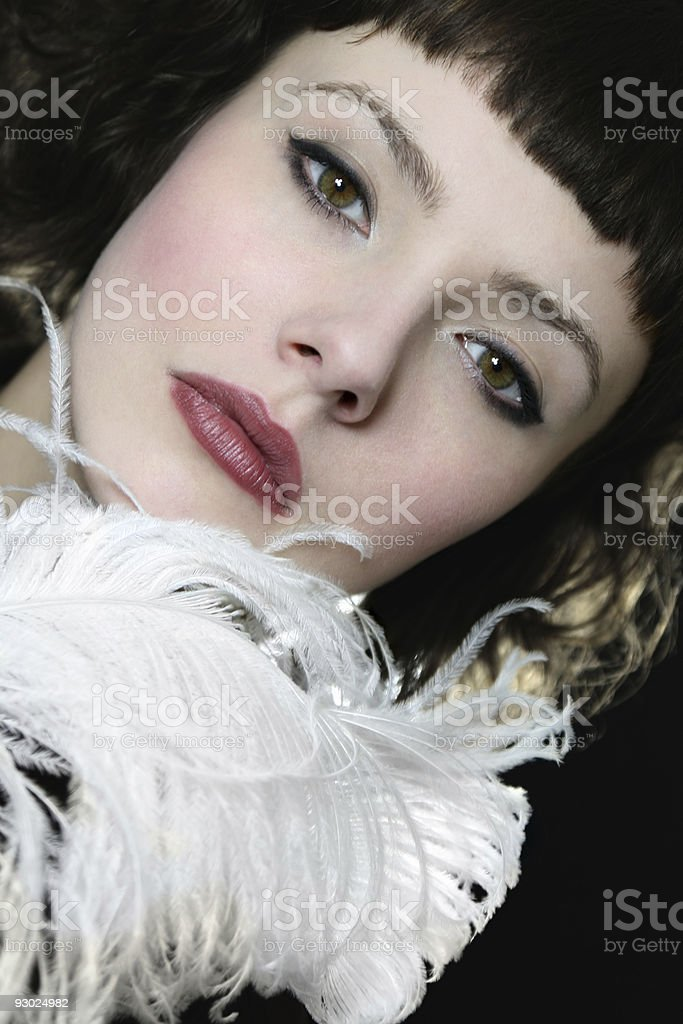 Subtle Like A Feather royalty-free stock photo