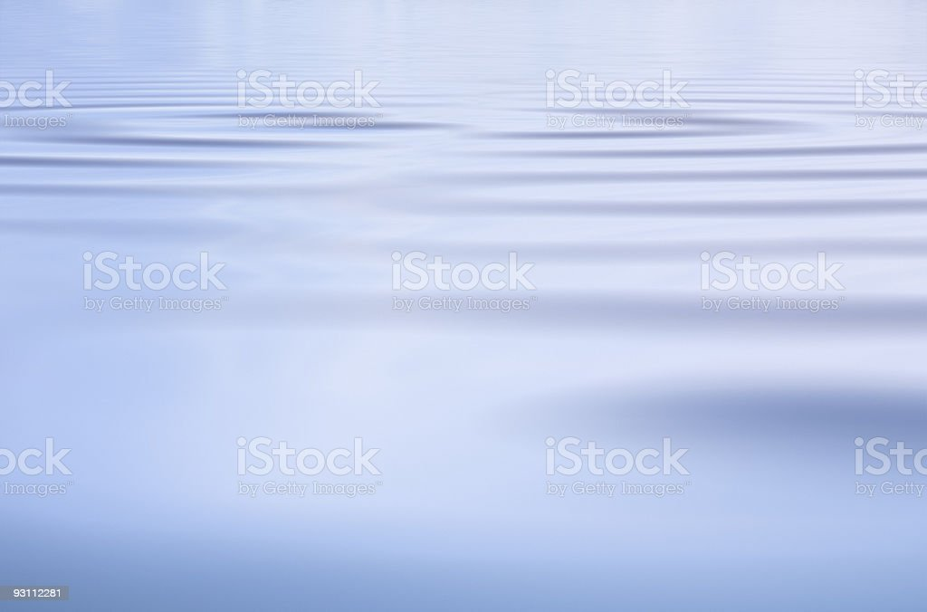 Subtle Water Ripples royalty-free stock photo