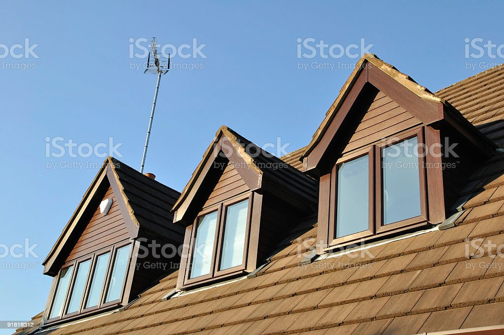 Suburb house royalty-free stock photo
