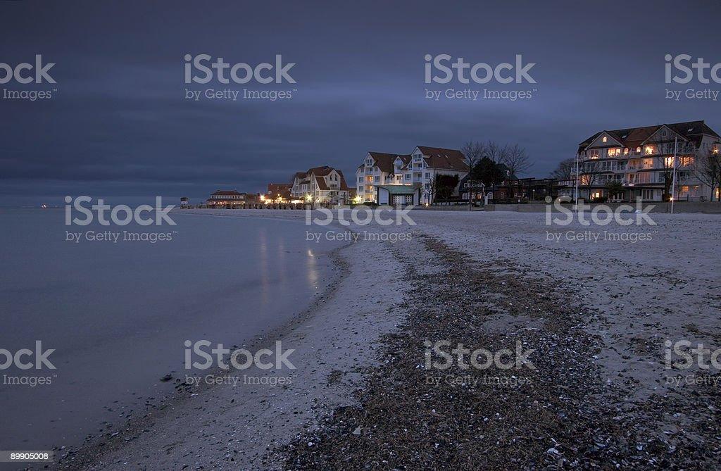 Suburbana de playa foto de stock libre de derechos