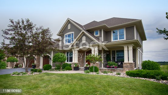USA, House, Residential Building, Outdoors, Building Exterior