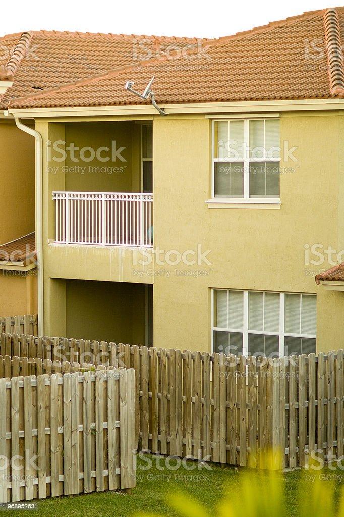 Suburban House royalty-free stock photo