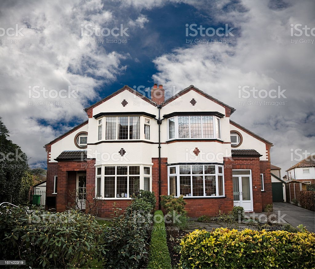 Suburbia-Click for related images royalty-free stock photo
