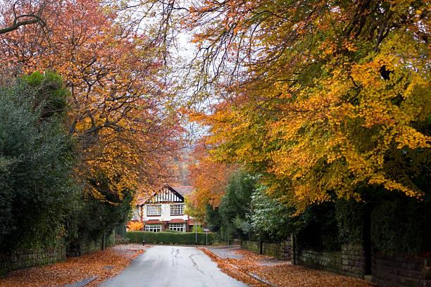 Vororten im Herbst – Foto