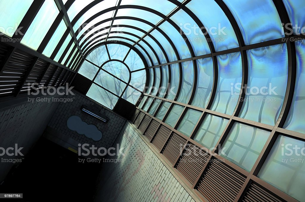 Subway Arch royalty-free stock photo