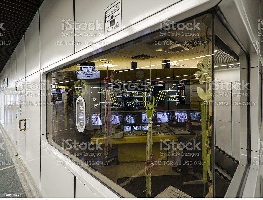 subway control center stock photo
