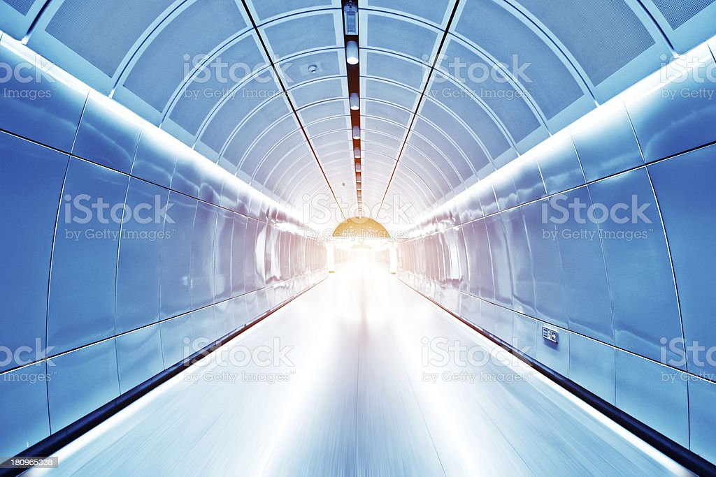 Subway entrance royalty-free stock photo