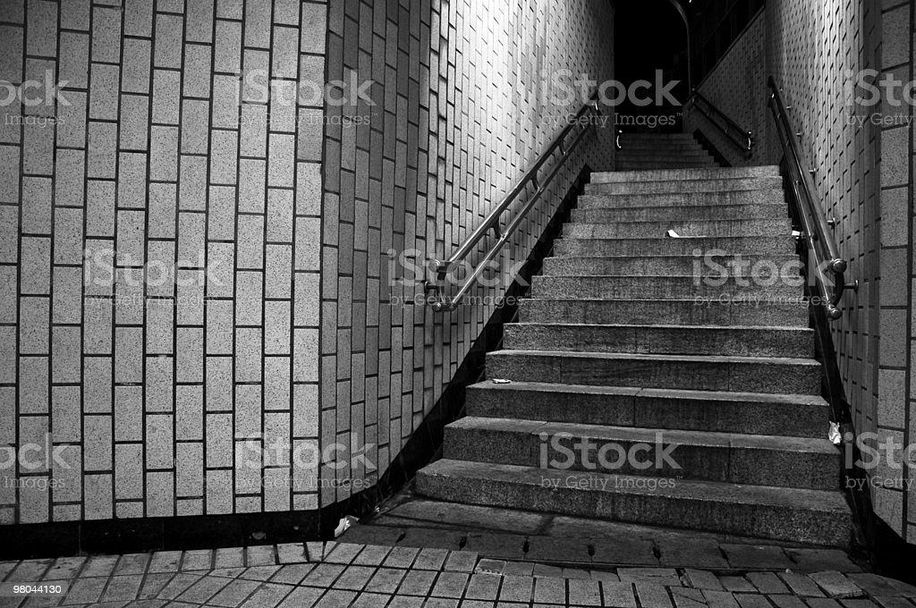 Subway Exit royalty-free stock photo