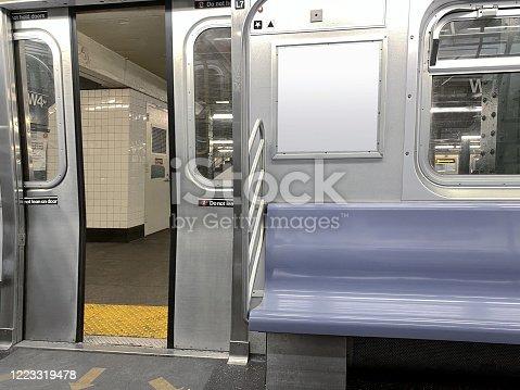 istock Subway interior 1223319478