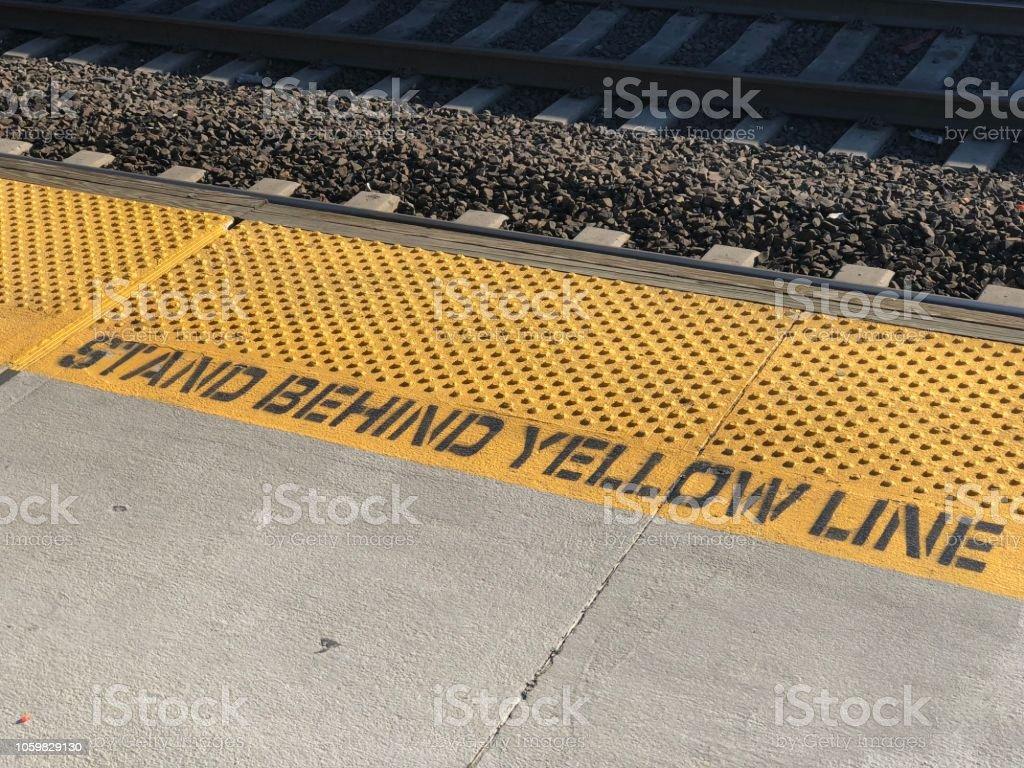 Subway Language stock photo