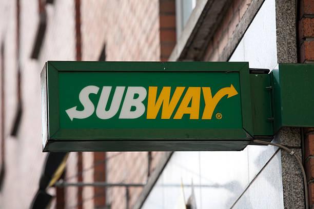 logo della metropolitana - subway foto e immagini stock