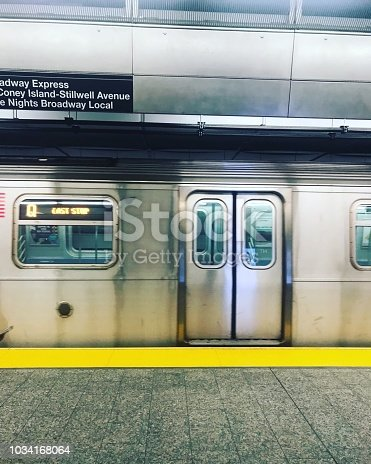 Subway travel in NYC