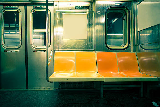 NYC Subway stock photo