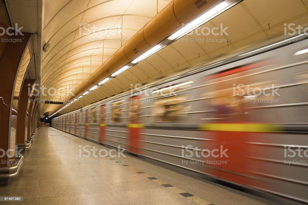 Metro - fotografia de stock