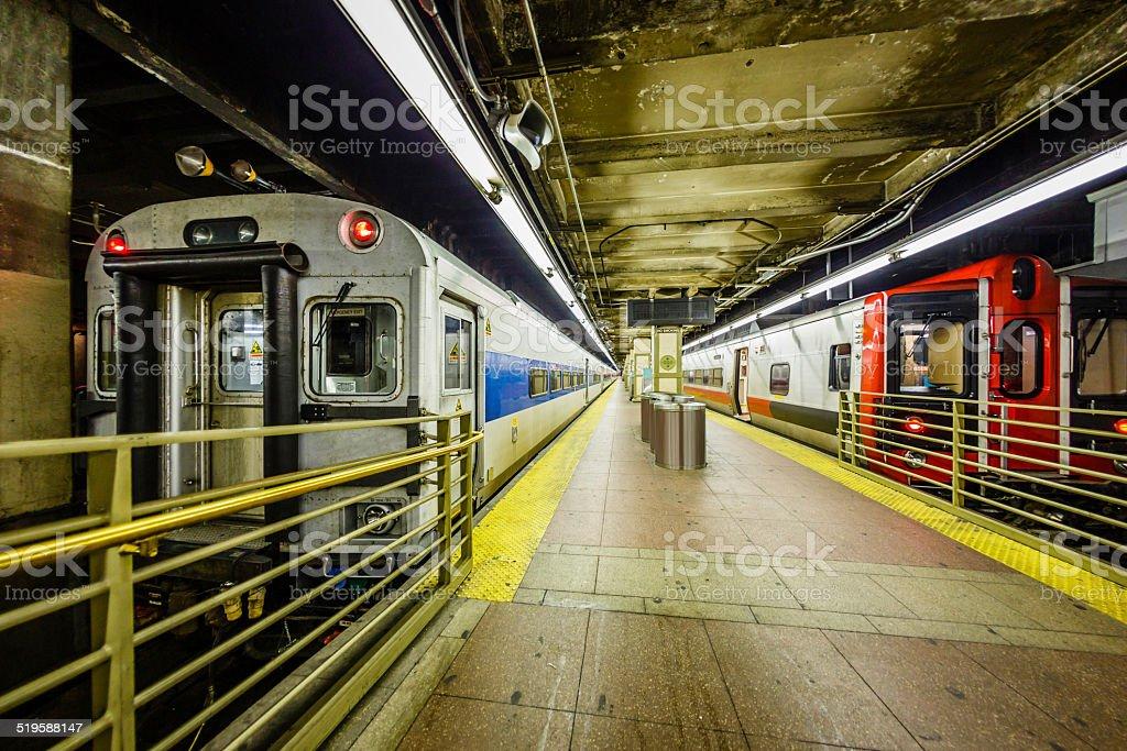 Subway station at Grand Central Station, New York City, USA.