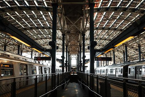 Subway Station Background