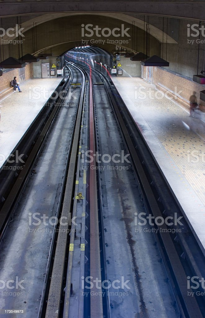 subway station in Montreal, Canada royalty-free stock photo