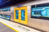 Subway station in Sydney, Australia.
