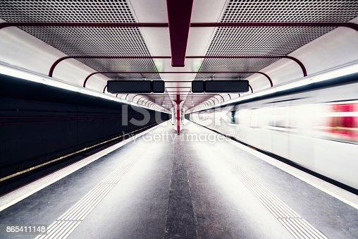 istock subway station in vienna 865411148
