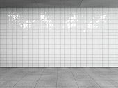 istock Subway station interior. 1218169524