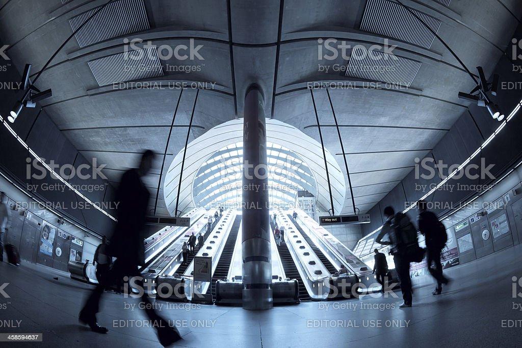 Subway Station stock photo