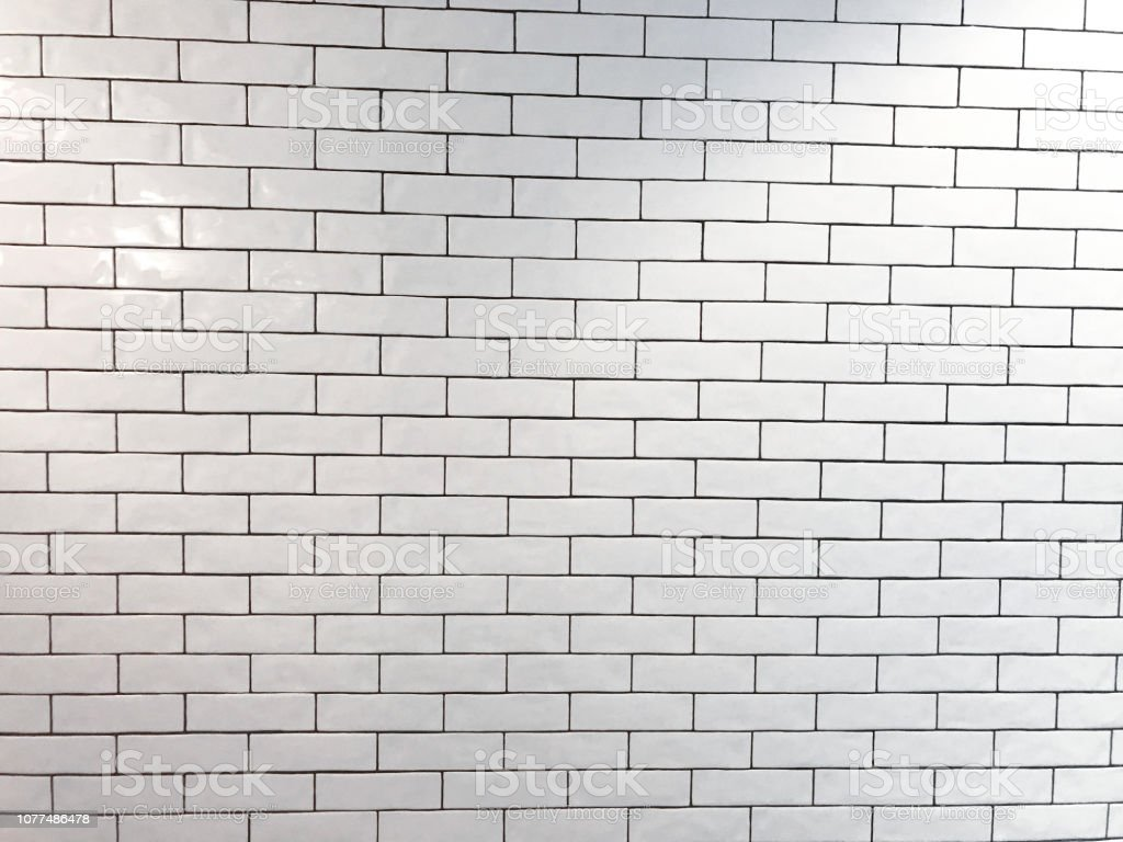 Subway Tile Background Stock Photo - Download Image Now ...
