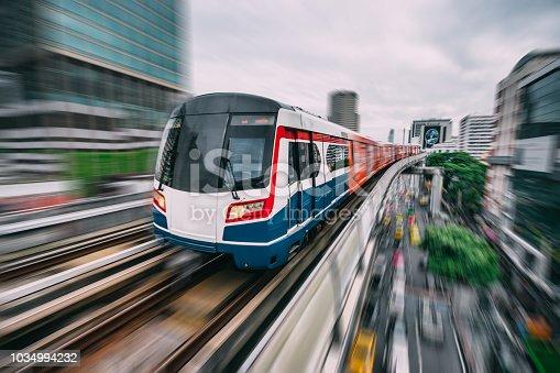 Rail transportation in Bangkok,Thailand