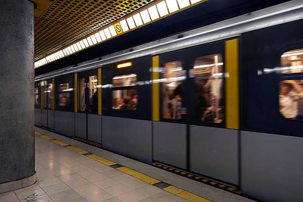 U-Bahn.  Color Image – Foto