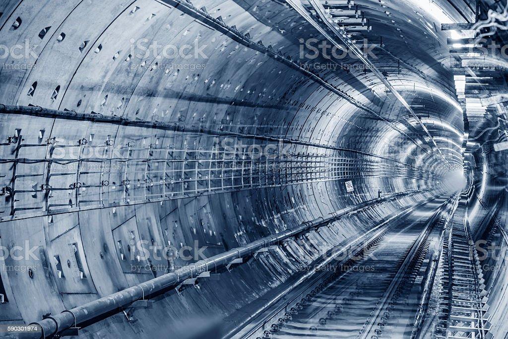 subway tunnels royaltyfri bildbanksbilder