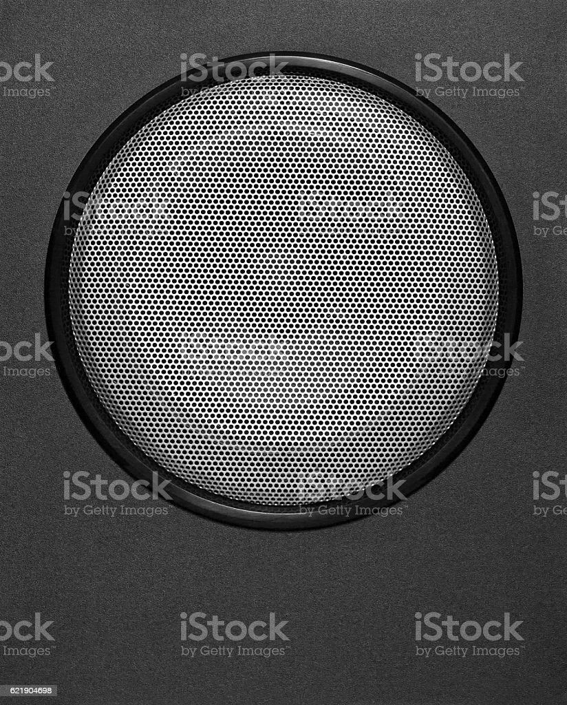 subwoofer for music stock photo