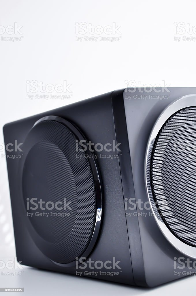 sub-woofer royalty-free stock photo