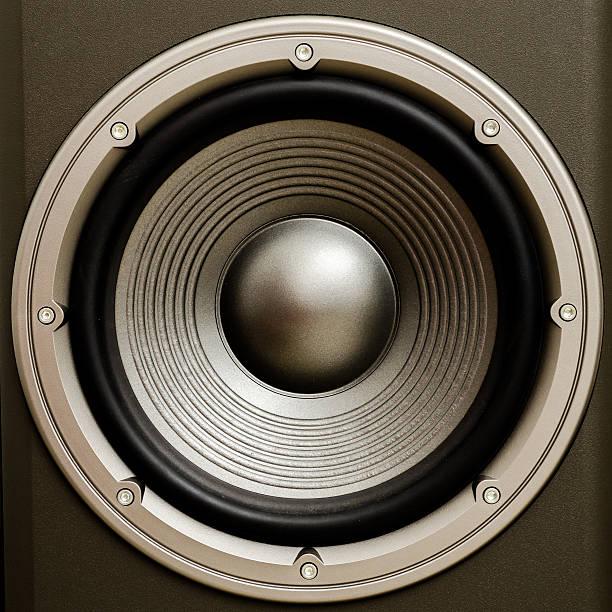 Subwoofer Speaker stock photo