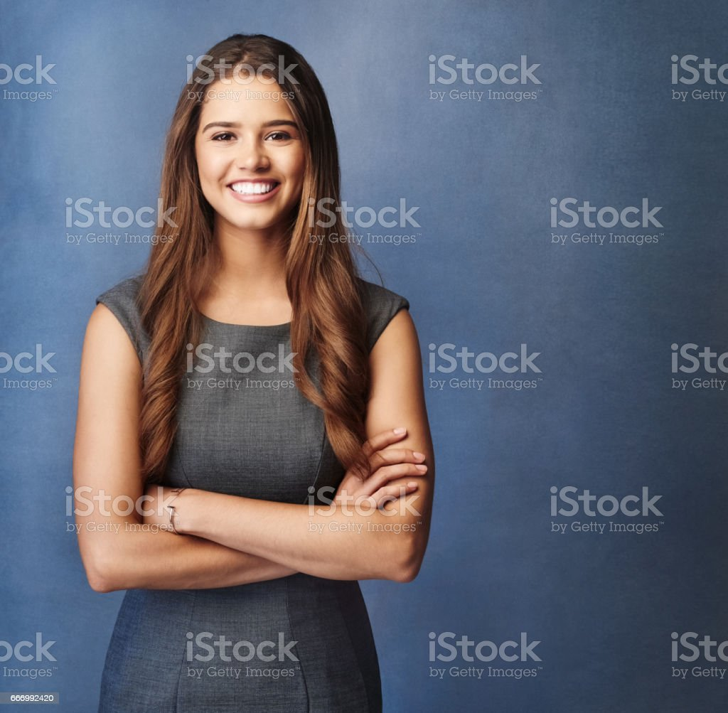 Succeeding with purpose and passion stock photo