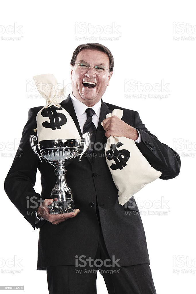 succesful businessman royalty-free stock photo