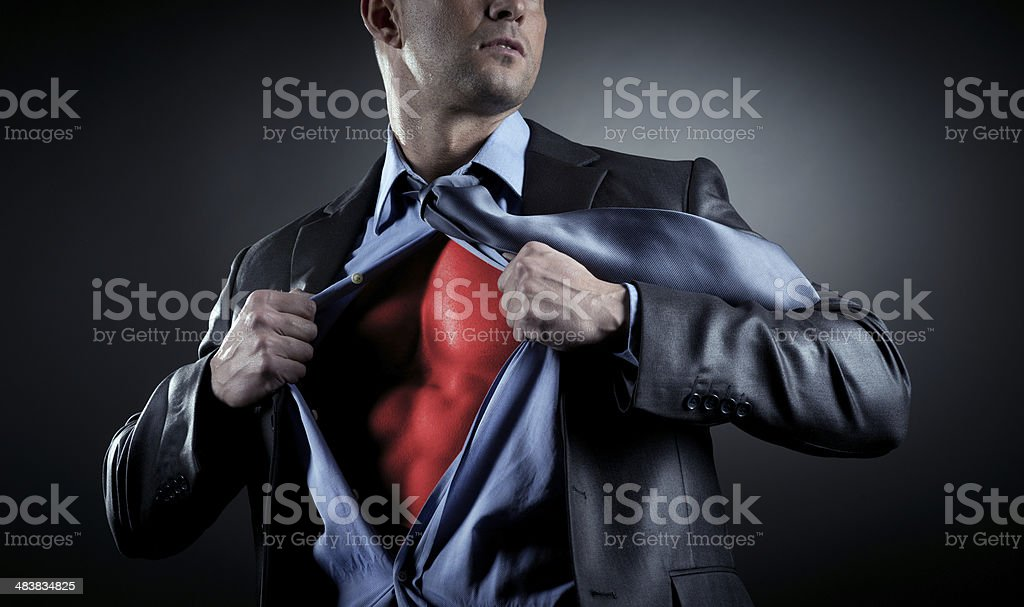Succesful businessman stock photo
