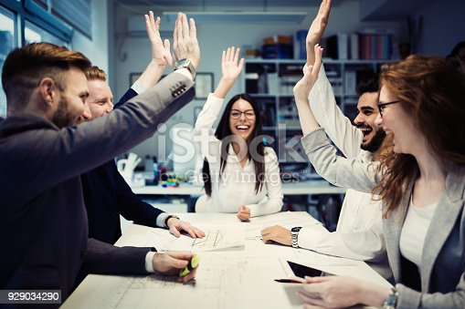 istock Succesful enterprenours and business people 929034290